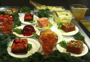 Image of Jello salads.