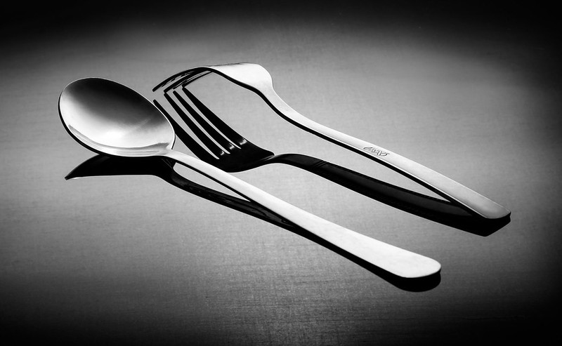 image of fork and spoon